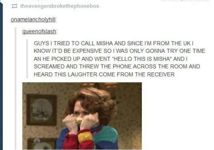 Funny Tumblr Comments Misha Collins