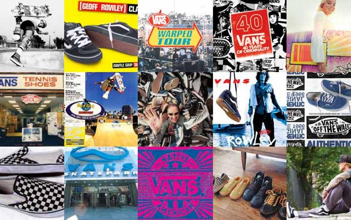 Vans continua a progredire guardando al futuro e disegnando con originalità prodotti autentici, calzature e abbigliamento, ispirato al mondo dello skate. Scopri di più sulla storia di Vans: http://www.aw-lab.com/blog/post/p/vans-timeline/