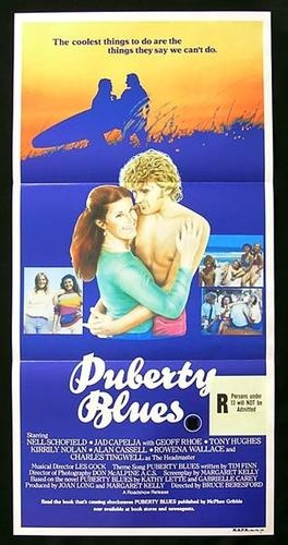 PUBERTY BLUES (the original!)  Daybill Movie poster