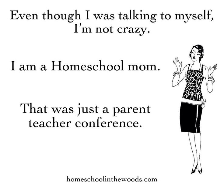 Homeschooling | Even though I was talking to myself, i'm ...