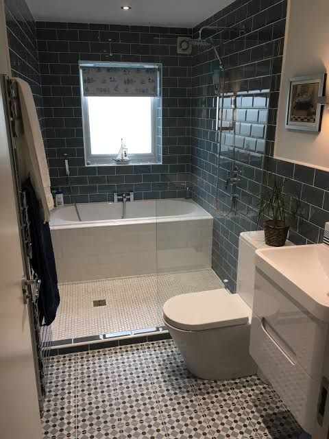 Image Result For How To Fit Shower And Bath In Small Bathroom