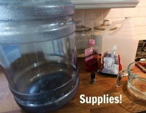 How to clean refillable 5 gallon water bottles for water dispensers! Good to know!