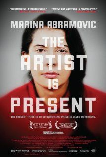 Marina Abramovic: The Artist Is Present | Documentary | USA | 2012 | 106m | 15 | Discover Marina Abramovic in a completely different light in this incredibly powerful documentary showing her time in MOMA in New York . I absolutely loved this documentary!