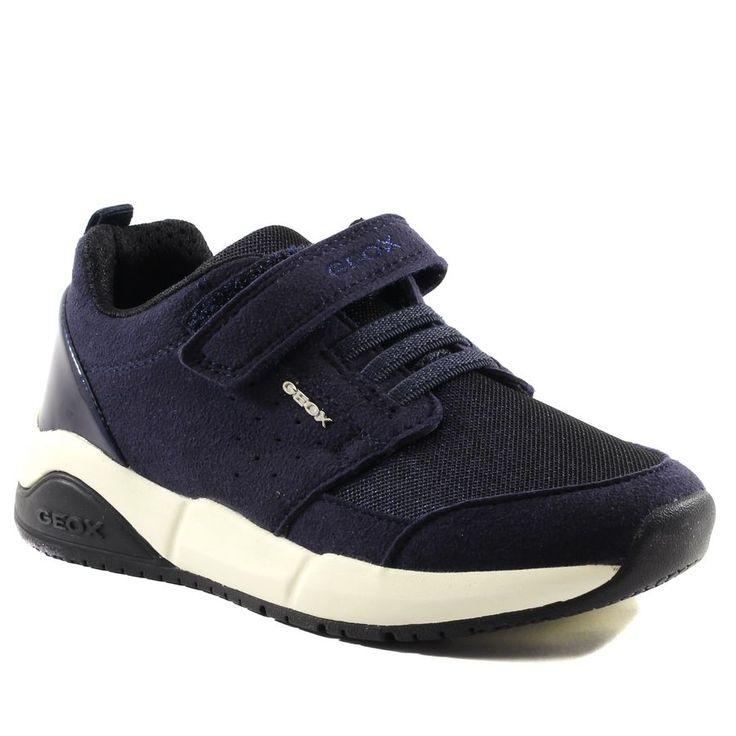 324A GEOX HIDEAKI J641XD MARINE www.ouistiti.shoes le spécialiste internet  #chaussures #bébé, #enfant, #fille, #garcon, #junior et #femme collection automne hiver 2016 2017