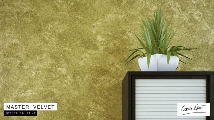 Zestaw do efektu dekoracyjnego - Cameleo - Master Velvet - srebrna - 6 m2