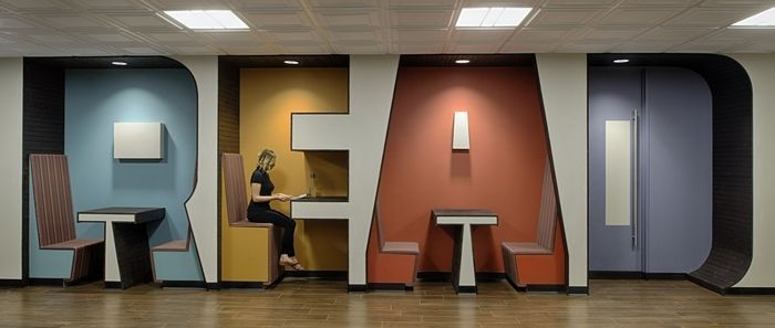 Inspiratiebeeld Silence workspaces/Stilte werkplekken