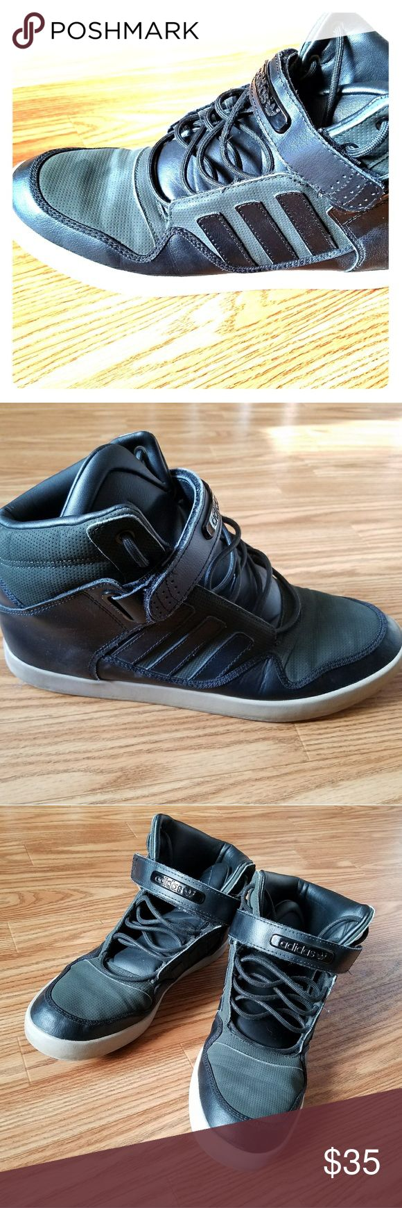 Adidas Evm High top Basketball Shoes for Men ✅Used/Excellent Condition ✅Adidas  ✅Satisfaction Guarenteed  🏁Fast Shipping🏁 adidas Shoes