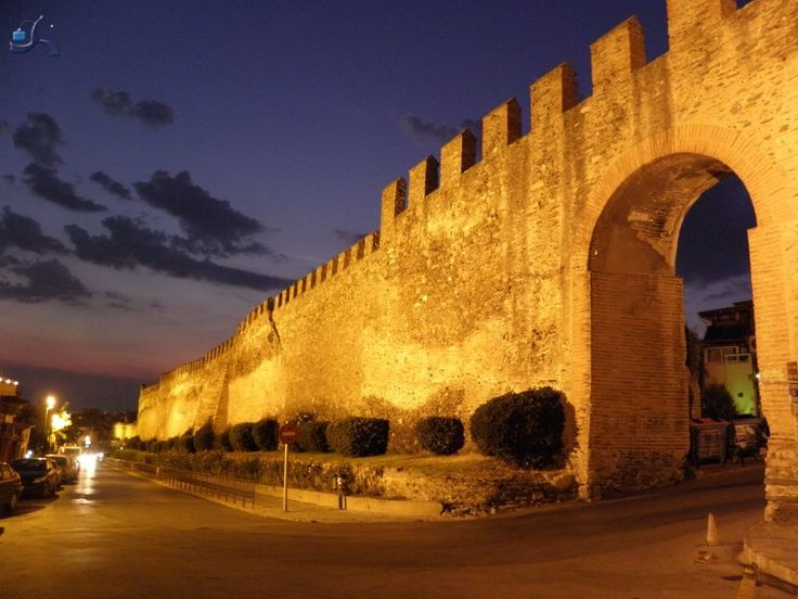 Anw Poli, Castles, Thessaloniki, Greece