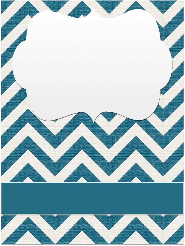 Binder Covers - Chevrons | Scribd | fonts, clipart, and more ...