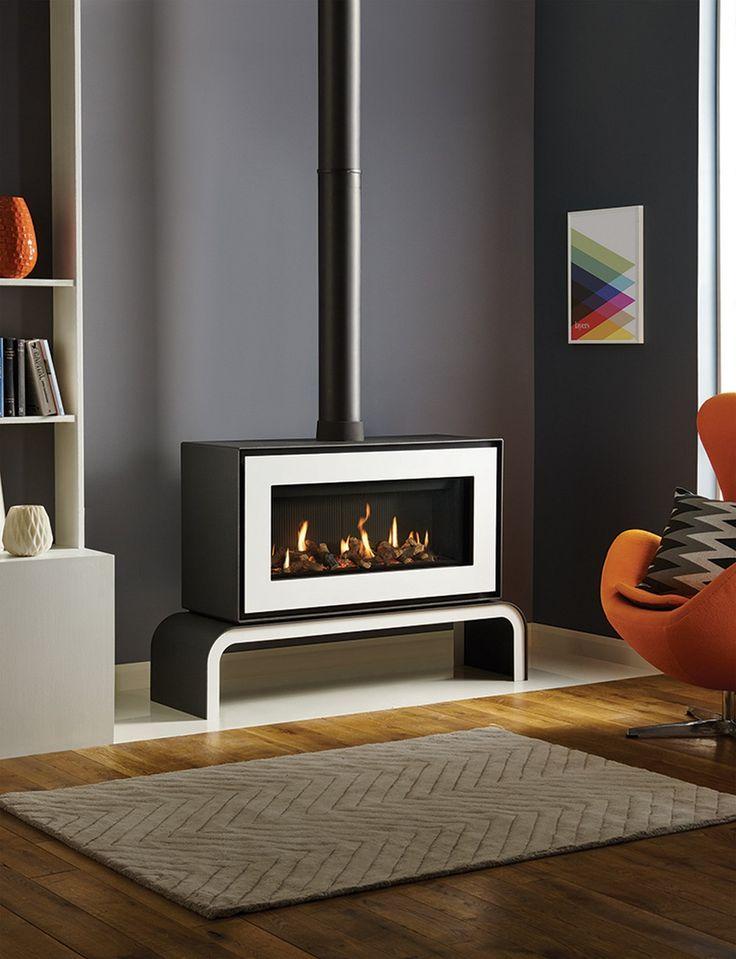 25 Best Ideas About Modern Living On Pinterest: 25+ Best Ideas About Freestanding Fireplace On Pinterest
