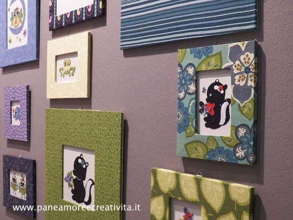 Nell'Atelier Home Decor, presentato alla fiera Abilmente di Vicenza da To-Do, protagonista è la parete. Parete che non è più vista solo come uno sfondo, ma riflesso della personalità di chi abita la casa. Tessuti, cornici e piccole decorazioni accompagnano il visitatore offrendo nuovi spunti e idee per vivere il proprio spazio colorato. L'angolo vintage...