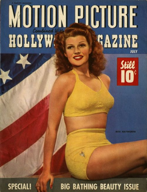 Motion Picture Hollywood Magazine July 1943 - Rita Hayworth