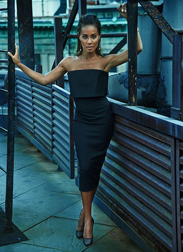 Jada Pinkett Smith Shows Of Her Super Style in Net-A-Porter's The Edit