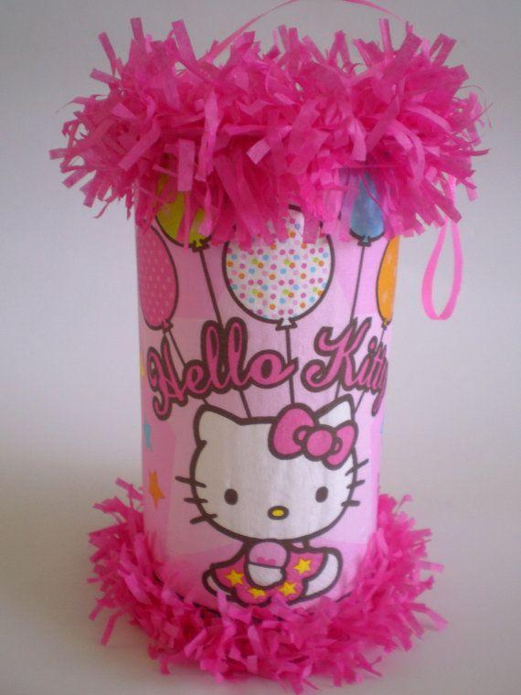 Hello Kitty mini pinata party favor
