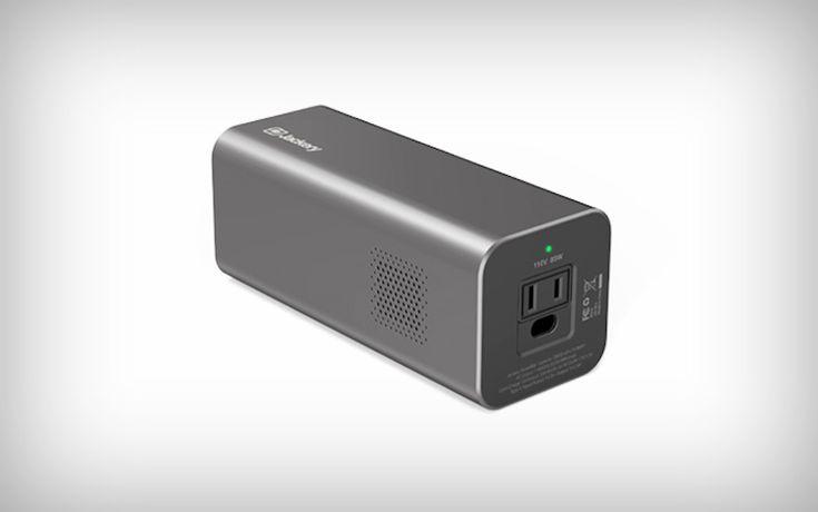 A portable wall socket, essentially! | Yanko Design