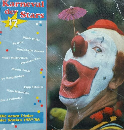 Various - Karneval Der Stars 17 - Die Neuen Lieder Der Session 1987/88 (Vinyl, LP, Album) at Discogs