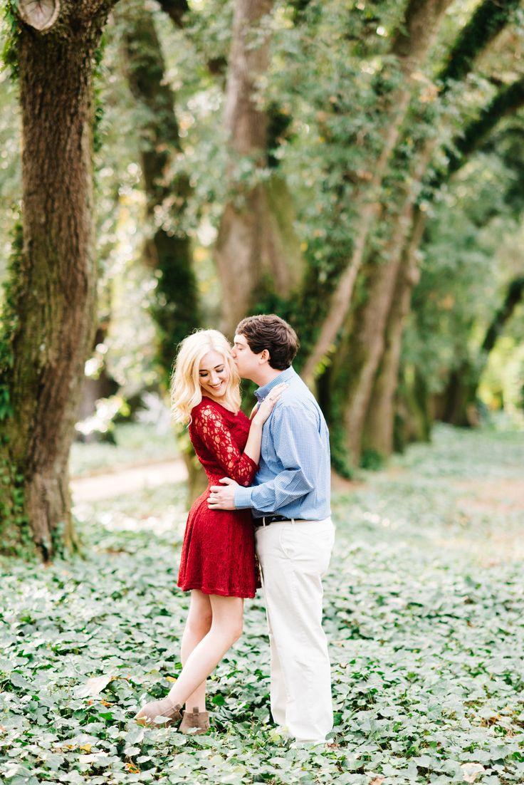 Ryan + Liz l Hopelands Gardens Aiken, SC Engagement