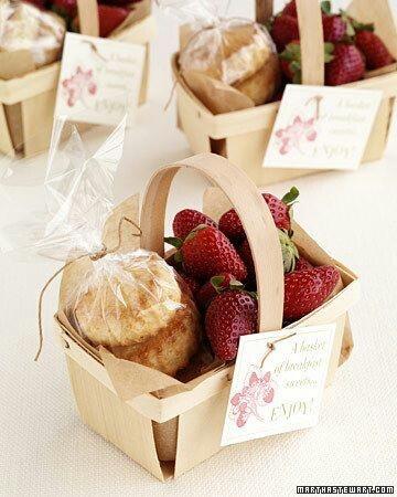 Strawberries and scones