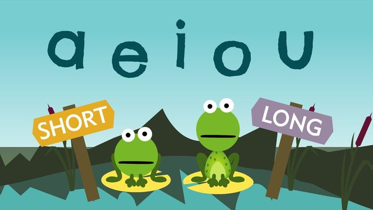 Cute video to distinguish short and long vowels!