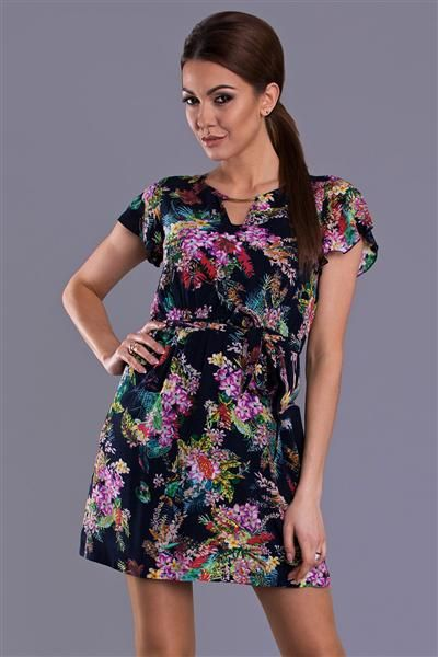 Przewiewna kolorowa letnia sukienka http://www.planetap.pl/sukienki-c-1_6.html