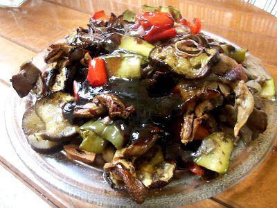 Μανιτάρια πλευρώτους με λαχανικά ψητά στον φούρνο !!! ~ ΜΑΓΕΙΡΙΚΗ ΚΑΙ ΣΥΝΤΑΓΕΣ 2