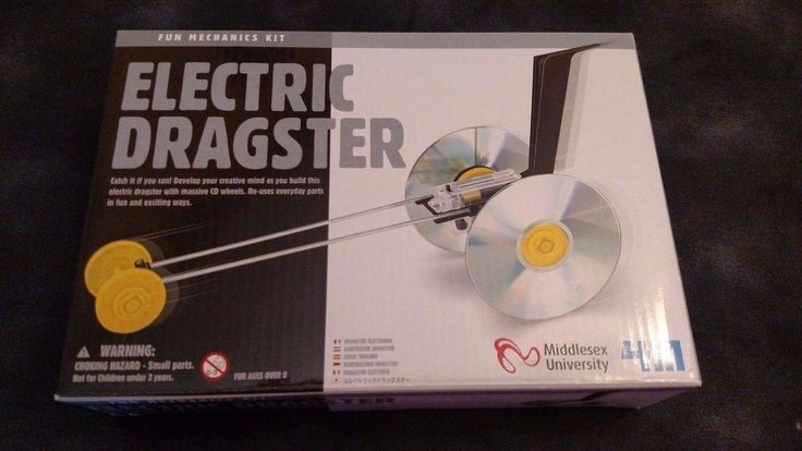 Dragster Kit 4M Toysmith/Middlesex University Fun Mechanic Electric #4MKITS