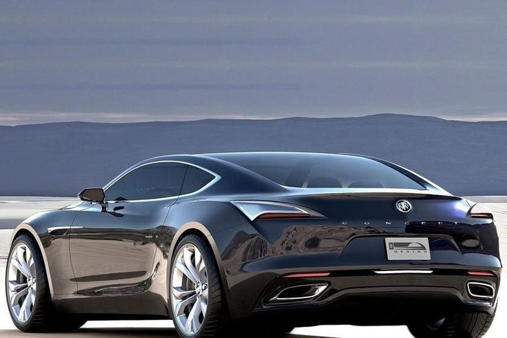 buick (yes buick) avista concept. competition for the