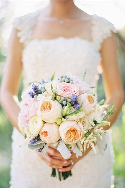 Spring Wedding Bouquet - Spring Wedding Flowers | Wedding Planning, Ideas & Etiquette | Bridal Guide Magazine
