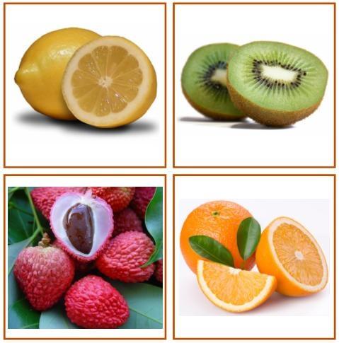 Free printable fruit cards