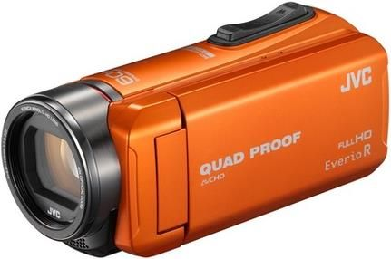 JVC Camcorder GZ-R415D Videokamera, orange #Video #Kamera #Film #Filmkamera #Digital #digitec