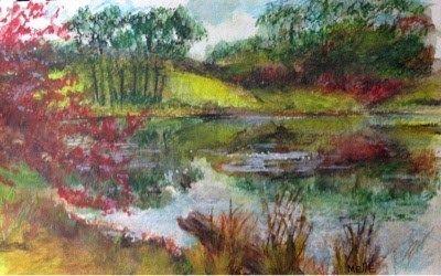 "Daily Paintworks - ""North Shore"" - Original Fine Art for Sale - © Melle Ferre"