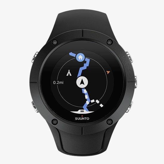 Suunto Spartan Trainer Wrist Hr Black Gps Training Watch In 2020 Gps Watch Suunto Multisport Watch