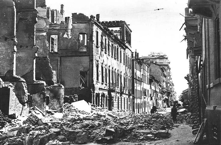 Bombardamento in via Fontana, Milano
