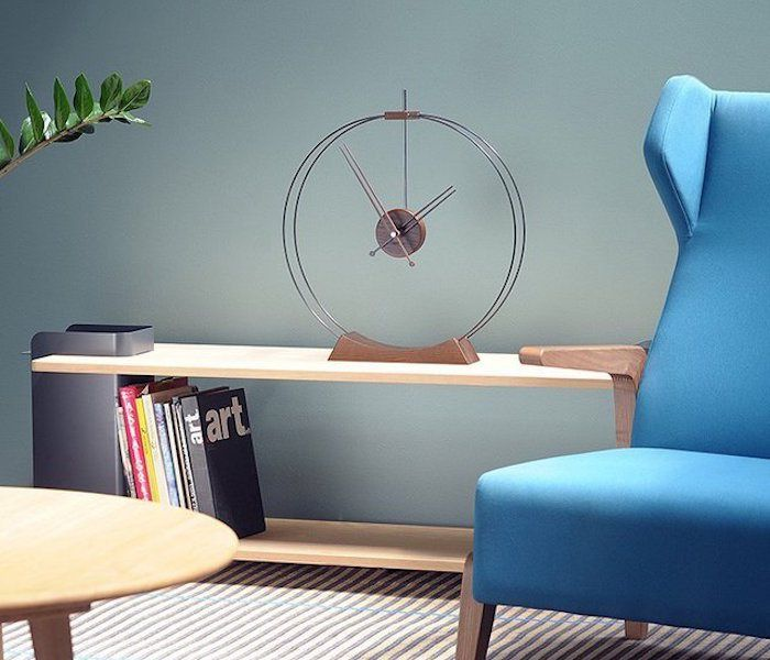 Aire chrome clock http://bit.ly/1chwe6a a must have design for ...