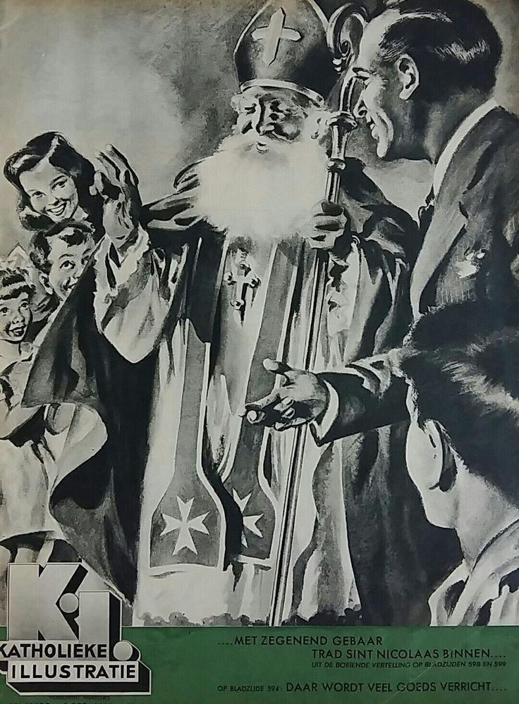 Sinterklaas cover, Katholieke Illustratie 1948