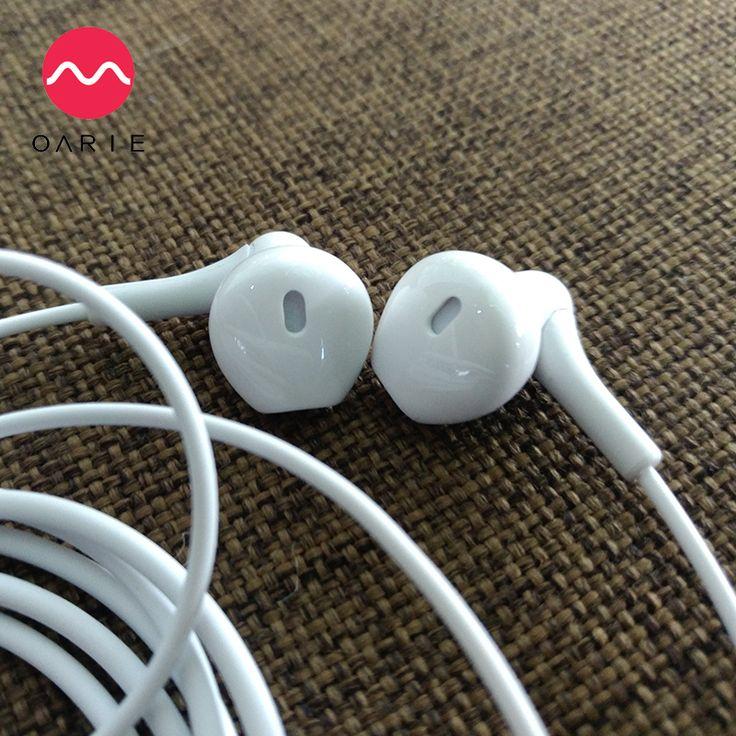 OARIE In-Ear Earphone For iPhone 6s 6  Xiaomi Hands free Headset Bass Earbuds Stereo Headphone For Apple Earpod Samsung earpiece