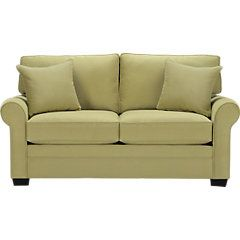 picture of Cindy Crawford Home Bellingham Wasabi Sleeper Loveseat  from Sleeper Loveseats Furniture  $777 - for girls room?
