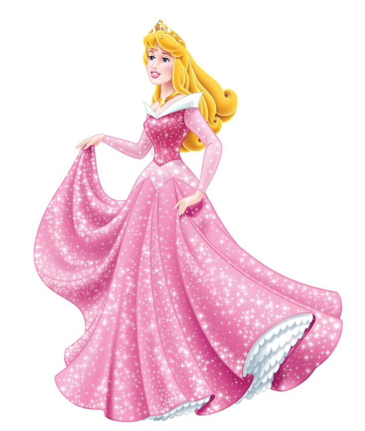 Princess Aurora in sparkles