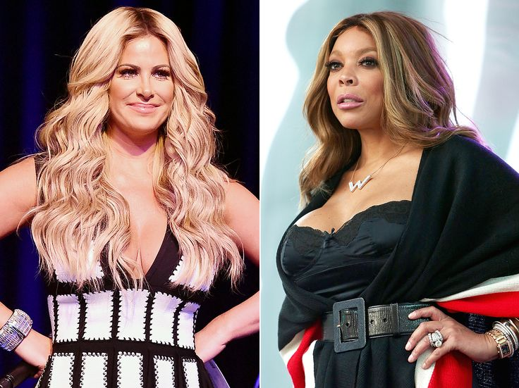 Kim Zolciak attacked talk show host Wendy Williams for implying on her show that the DWTS contestant had faked her recent mini-strokes to get votes -- details