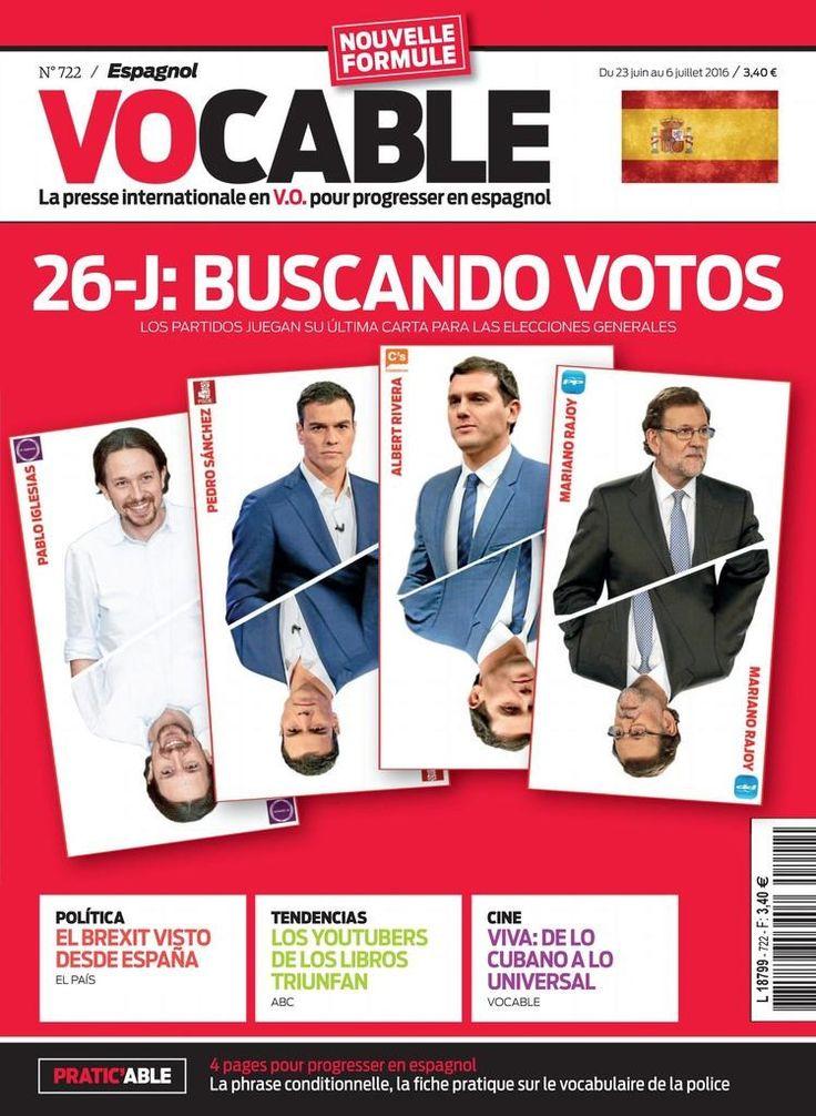 Vocable espagnol N° 722 - 23 juin 2016. El Brexit visto desde España. Los youtubers de los libros triunfan. Viva : de lo cubano a lo universal.
