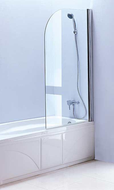 Bath Tub Enclosure Bath Tub Glass Screen With Swing Door