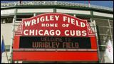 The one and only Wrigley Field            Home of the Chicago Cubs