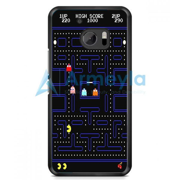 Pacman Game HTC One M10 Case | armeyla.com