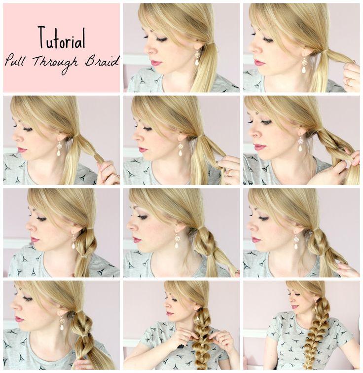 Blush Affair: Tutorial: Pull Through Braid - Einfach & ohne Flechten!