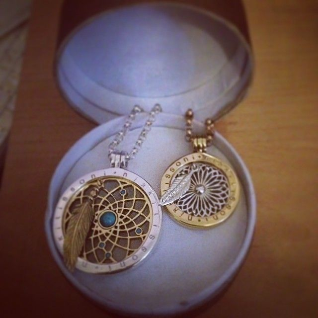 New nikki purchases, waiting to get my large dream catcher coin for my RG large necklace as well :) @Nikki Lissoni brought at @fabcollectionsuk -