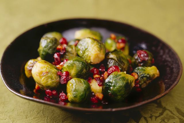 Need a quick and tasty recipe for Brussels sprouts? Give our Brussels Sprouts with Cranberries recipe a try. The sweetness of the cranberries and fig balsamic dressing pairs nicely with the Brussels sprouts.
