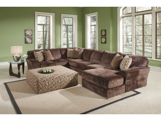 Champion chocolate sectional most comfortable couch ever for Most comfortable sectional sofa ever