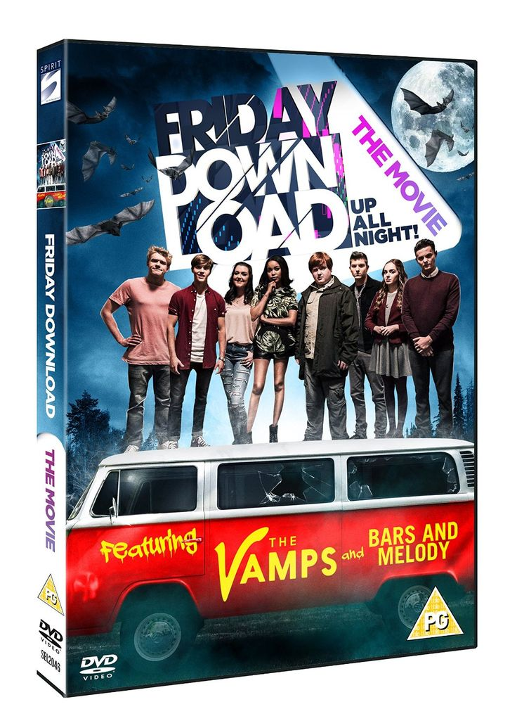 Friday Download - The Movie [DVD]: Amazon.co.uk: The Vamps, Bars And Melody, Dionne Bromfield, Shannon Flynn, Bobby Lockwood, George Sear, Richard Wisker, Ethan Lawrence, Tyger Drew-Honey, David Mitchell, Marcus Brigstocke, John Henderson: DVD & Blu-ray