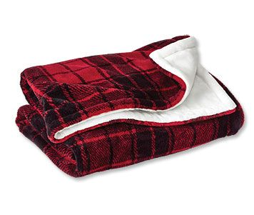 We made our Softest Blanket Ever for your dog, with indulgent plaid fleece on its reverse.