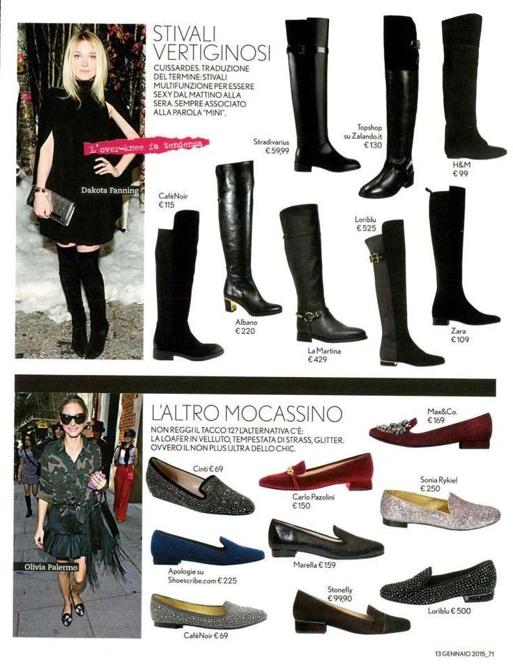 Scopri lo stivale Albano sulla rivista Tu Style e scegli quello più adatto a te!!! Albano è uno stile glamour in costante evoluzione
